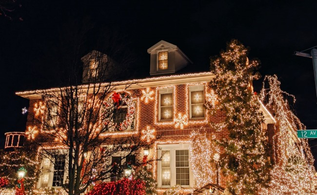 Christmas lights tours, holiday lights tours